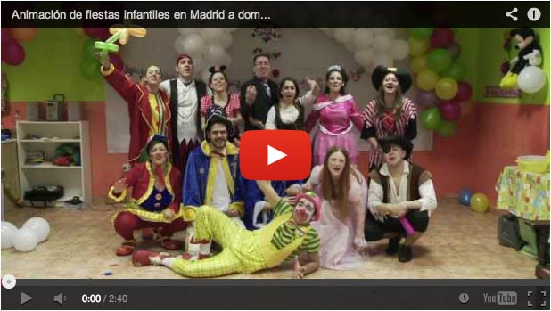 Video Animaciones Infantiles Madrid