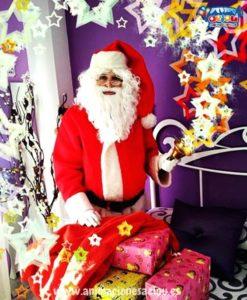 La visita de Papá Noel en Madrid