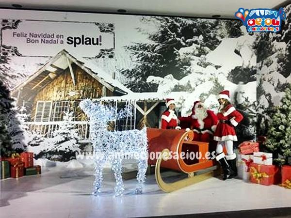 Visita de los Reyes Magos y Papá Noel Madrid