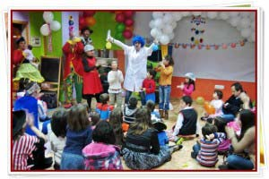 Aimación infantil en Madrid