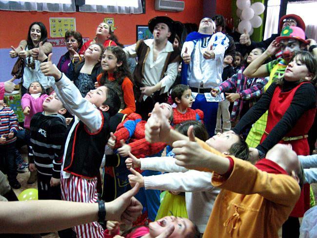 Animadores para fiestas infantiles Madrid