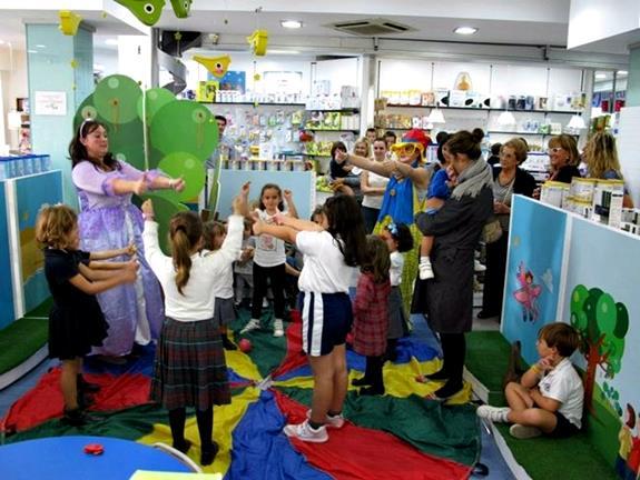 Cantajuegos para niños Madrid