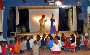 children's party entertainers in Madrid shows