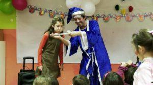 Magos a domicilio para fiestas infantiles en Madrid
