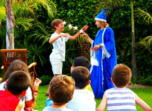 Trucos de magia para niños Aeiou.