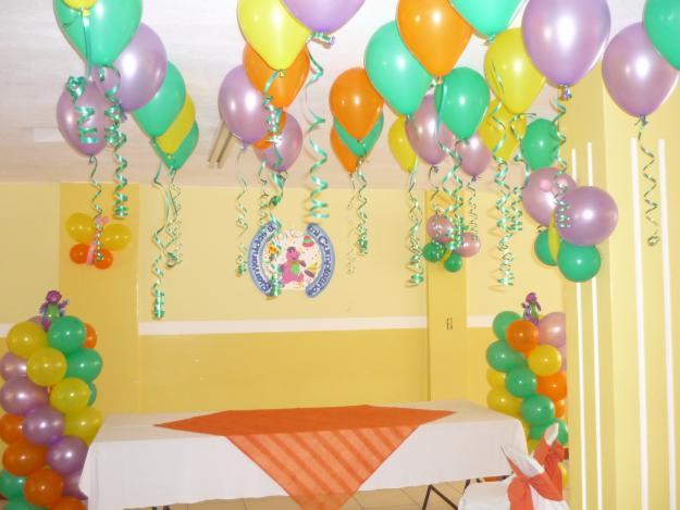 Decoraci n con globos para fiestas infantiles madrid for Decoracion en pared para ninos