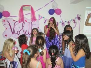 Fiesta temática de Violetta-2