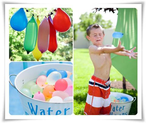 Juegos De Agua Para Cumpleanos Infantiles