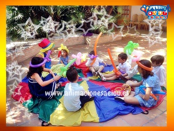 Animación de fiestas infantiles a domicilio