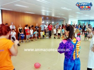 Animaciones infantiles con música Madrid