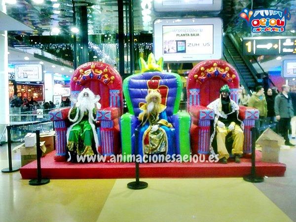 animadores fiestas para niños navidad madrid