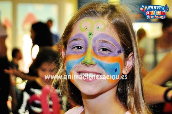 Diseños sencillos al pintar a los niños