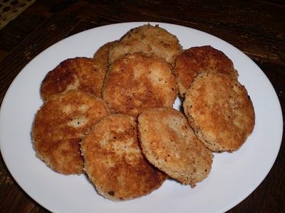 tortitas de patata para niños