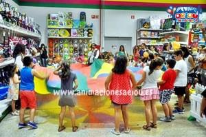 Animación de fiestas infantiles en Guadalajara