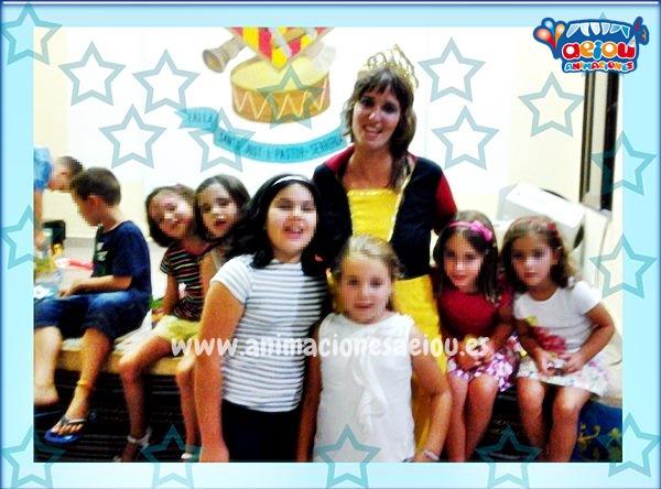 Animaciones fiestas cumpleaños infantiles comuniones Guadalajara