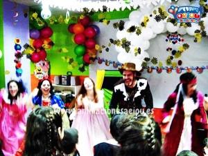 Buscar trabajo de animador de fiestas infantiles