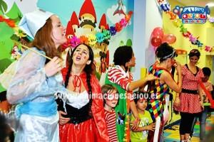 Buscar trabajo de animadores de fiestas infantiles