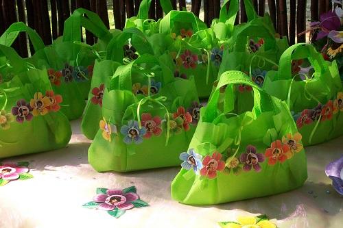 Decoración de una fiesta infantil Bolsas de dulces de Hadas