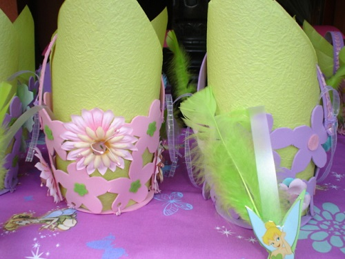 Hadas decoración de una fiesta infantil