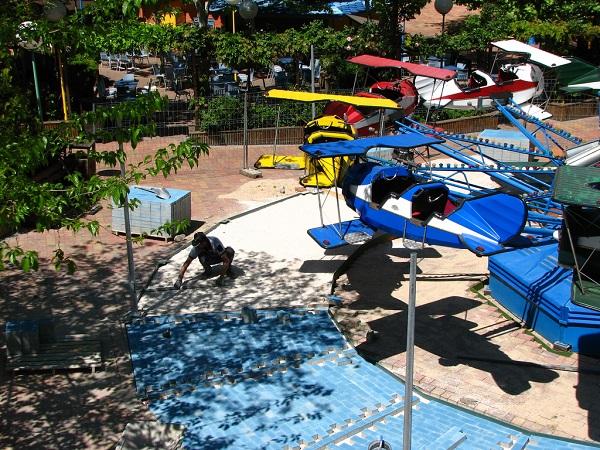 Parques de atracciones en vacaciones en Madrid