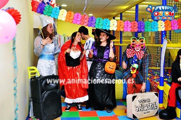 contratar para fiestas infantiles animadores divertidos