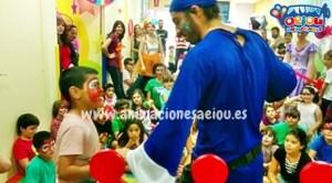 Animadores magos payasos comuniones en Segovia