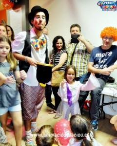 Animadores magos payasos comuniones en Toledo
