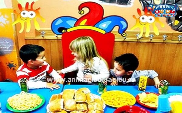 Primer paso al decorar fiesta de cumpleaños para niños