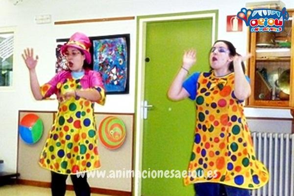 animadores cumpleaños infantiles Segovia