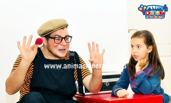 animadores cumpleaños infantiles