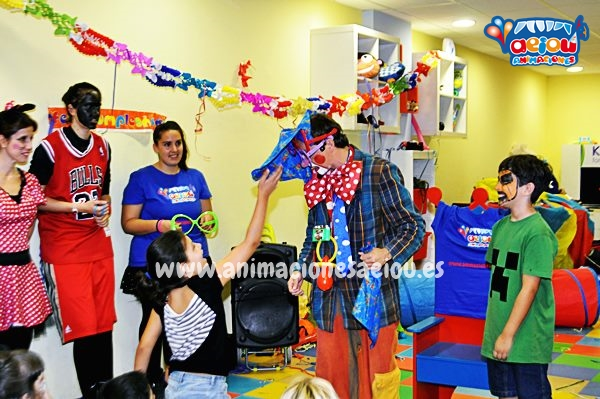 animadores fiestas cumpleaños infantiles Segovia