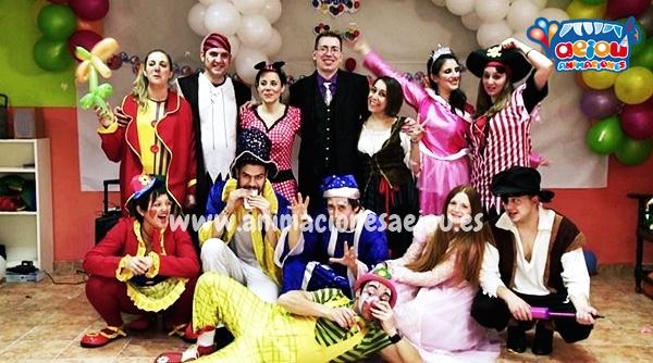 animadores fiestas cumpleaños infantiles madrid