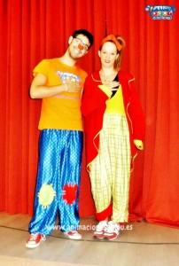 animadores infantiles para fiestas de cumpleaños Segovia