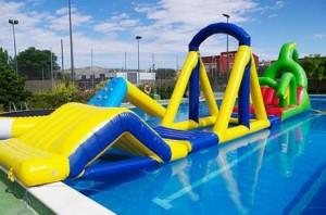 Castillos hinchables acuáticos según los niños