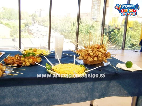Catering infantil en Madrid