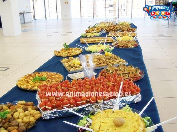 Catering para fiestas infantiles en Madrid