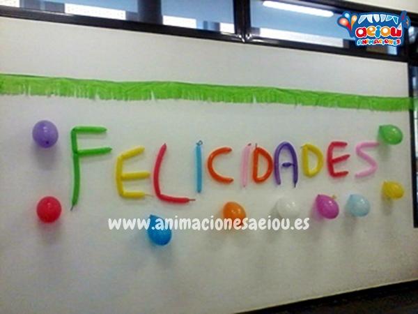 Decoración de Fiestas Infantil en Madrid