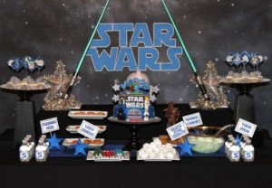 Decorar una fiesta infantil de Star Wars