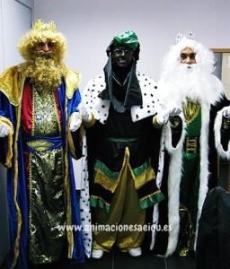Fiesta infantil de navidad en Madrid