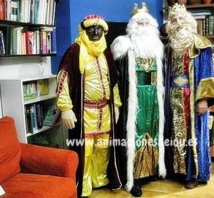 Fiesta infantil navideña en Madrid
