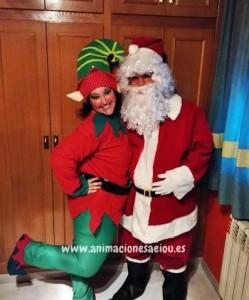 Fiestas infantiles de Navidad en Guadalajara