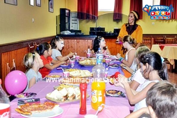 Menú de cumpleaños infantil en Madrid