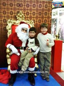 Papá Noel a domicilio en Madrid
