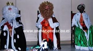 contratar Reyes magos a domicilio  en Madrid
