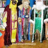 Reyes magos en casa en Madrid