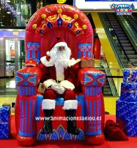 Santa Claus a domicilio en Madrid