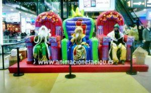 Arbol de navidad infantil en Segovia