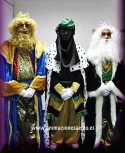 Contratación de Reyes Magos en Guadalajara