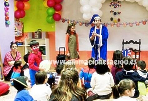Animaciones para fiestas infantiles en Fuenlabrada