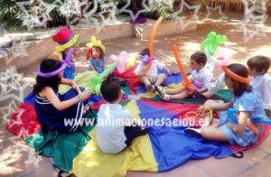 Animador para cumpleaños a domicilio en Collado de Villalba